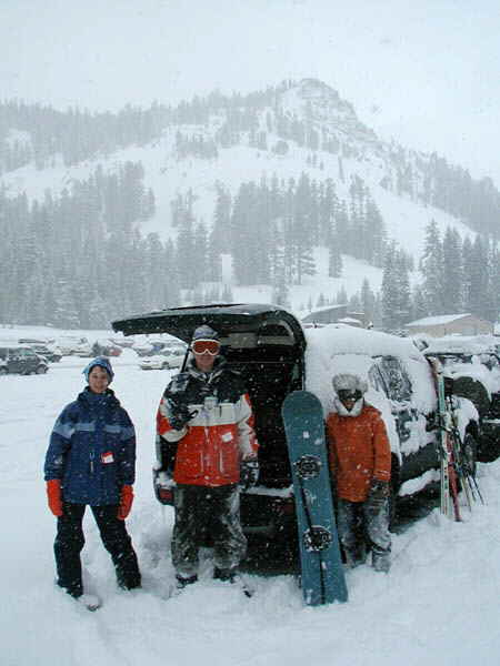 LaKe Tahoe Accommodation guest ready for an alpine adventure