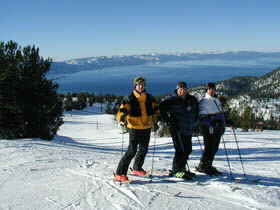 Accommodation Tahoe guest enjoys a Heavenly Valley Ski Resort View of the Lake