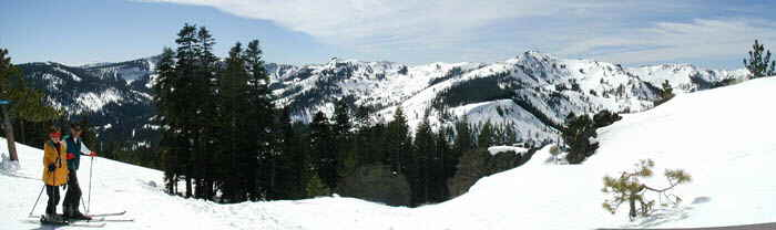 Accommodation Tahoe guests  skiing